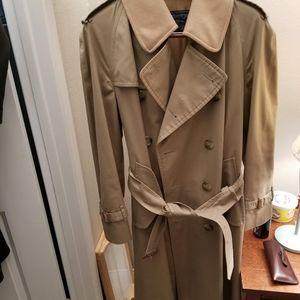 Men's Burberry long jacket